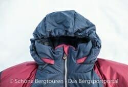 Valandre Bifrost Daunenjacke - Helmtaugliche Kapuze