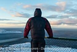 Valandre Bifrost Daunenjacke - Am Nordkap