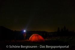 Valandre Bifrost Daunenjacke - Nachts in den Alpen