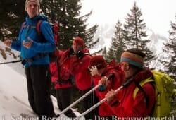 Bergfuehrer Stefan erklaert