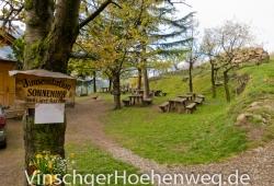 Biergarten der Jausenstation