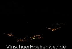 Vinschgauer Tal bei Nacht