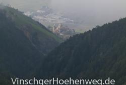 Blick auf Schloss Annenberg