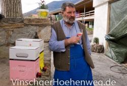 Karl Luggin mit Weirouge Apfelsaft