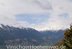 Blick ueber das Vinschgauer Tal
