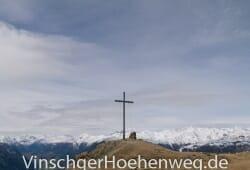 Gipfelkreuz der Spitzige Lun
