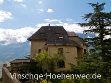 Wohntrakt des Schlosses Juval