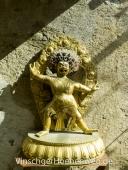 Statue einer Gottheit