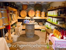 Verkaufsraum des Kandlwaalhof Luggin