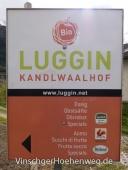 Schild des Kandlwaalhof Luggin
