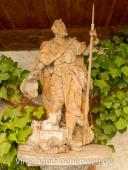 Statue im Hof der Churburg