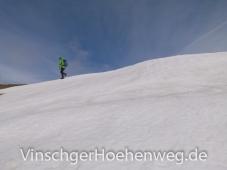 Altschneefelder am Spitzige Lun