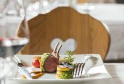Vitalpina Hotel Magdalenahof - Gebratenes Lammfleisch