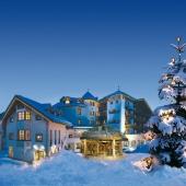 Wellness-Residenz Schalber - Aussenansicht im Winter