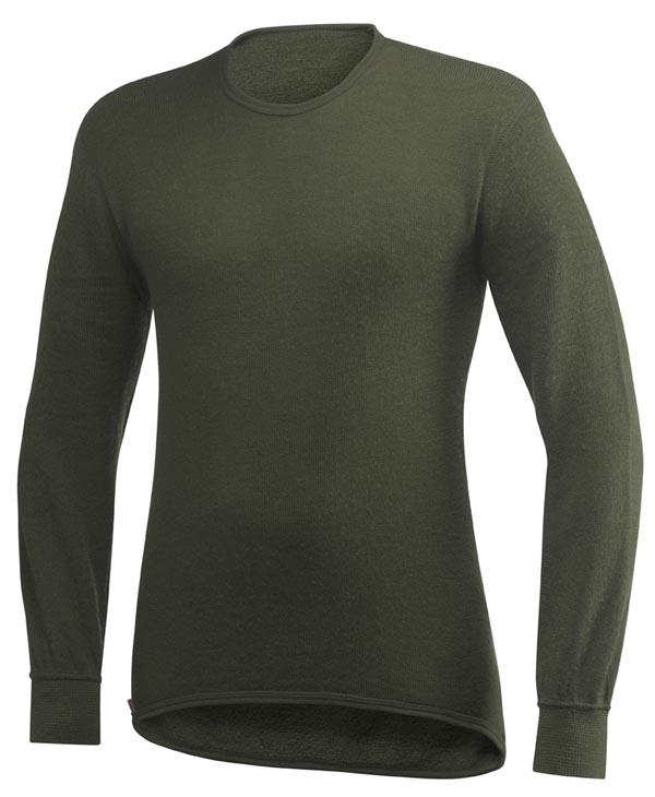 Woolpower - Rundhalshemd 200 - Green