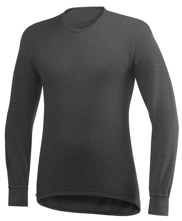 Woolpower - Rundhalshemd 200 - Grey
