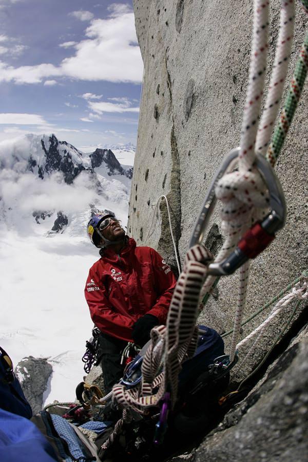Stefan Glowacz am Cerro Murallón