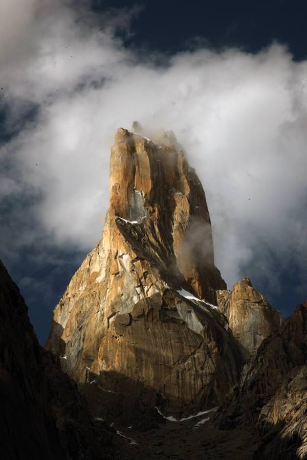 Die Westwand des Nameless Tower