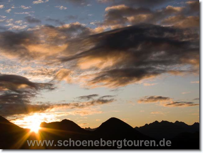 Tourenbericht - Allgaeuer Alpen Oktober 2009