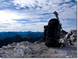 Stillleben auf dem Bockkarkopf (2608m Höhe)