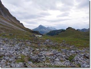 Blick zu Mittleren Biber-Alp