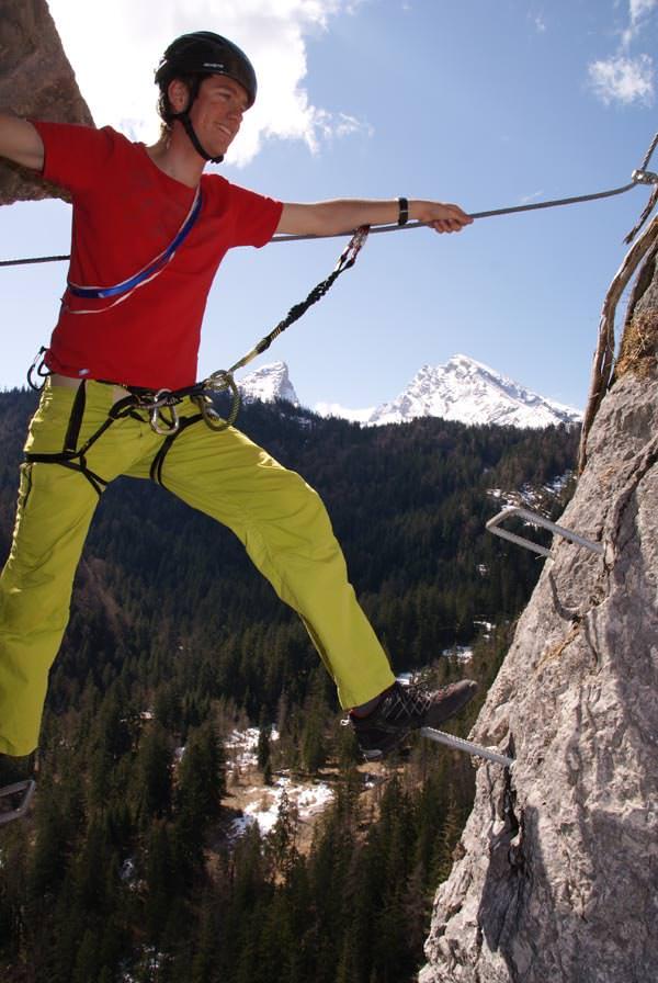 Salewa Klettersteigschule Berchtesgaden #5