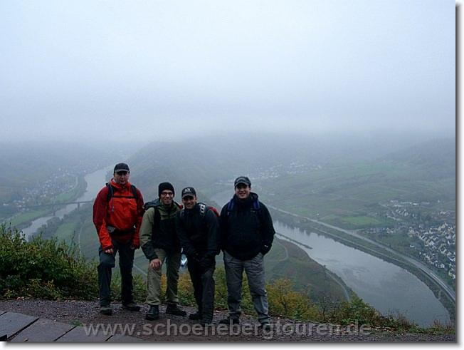 Tourenbericht - Calmonter Klettersteig November 2006