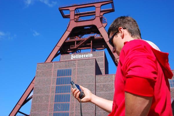 Garmin GPS Festival auf Zollverein Essen