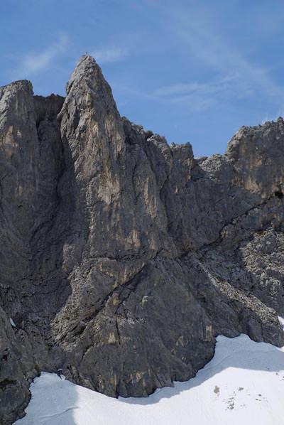 Lamsenhuettenturm - Karwendelgebirge