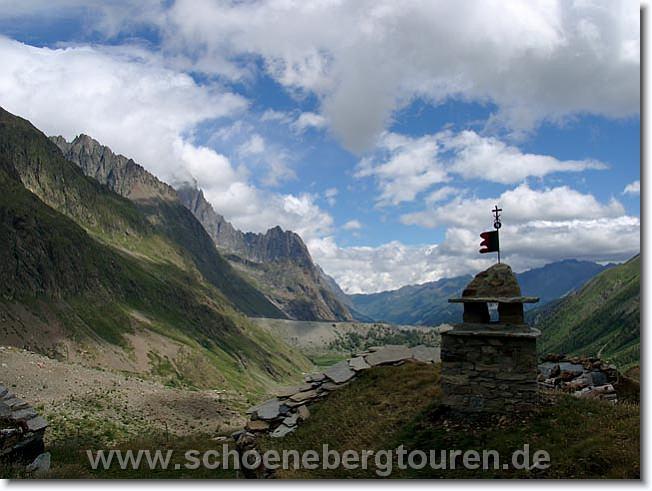 Tourenbericht - Tour de Mont Blanc Juli 2006