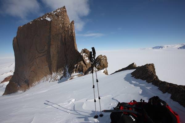 """""""Skywalk"""" bietet schönes Klettern mit moderaten Schwierigkeiten"""