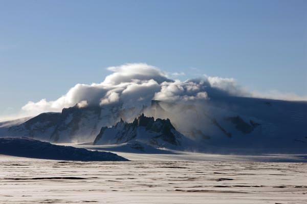 Die Antarktis ist nicht nur der kälteste, sonder auch der windigste Kontinent auf unserem Planeten