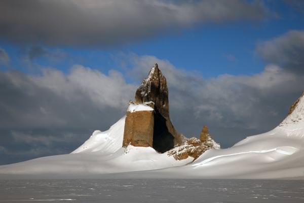 Ulvetanna, der schwierigste Berg in der Antarktis