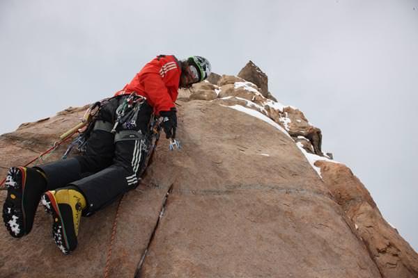 Angenehmes alpines Terrain hoch am Ulvetanna