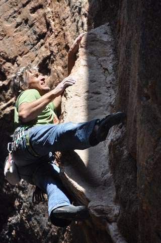 Michael Wärthl in Asolo Malequoum 7b