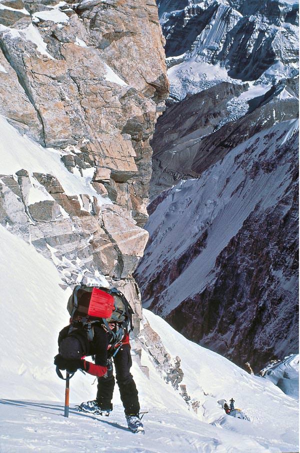 Peter Habeler - Aufstieg zum letzten Lager am Kangchendzoenga