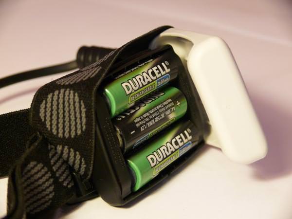 Petzl Myo RXP - Batteriefach