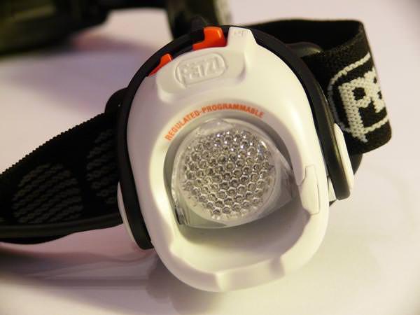 Petzl Myo RXP - Nahansicht mit Weitwinkellinse