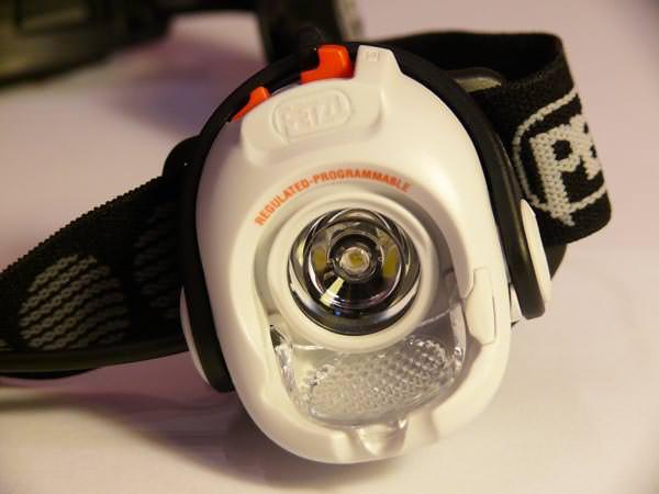 Petzl Myo RXP - Nahansicht ohne Weitwinkellinse