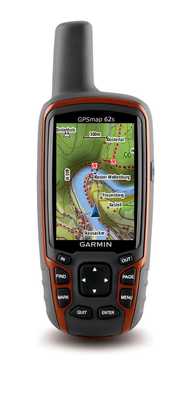 Garmin GPSmap 62s mit TOPO Deutschland 2010