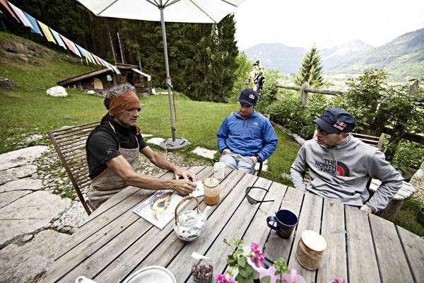 Manolo Zanolla, Eneko Pou und Iker Pou