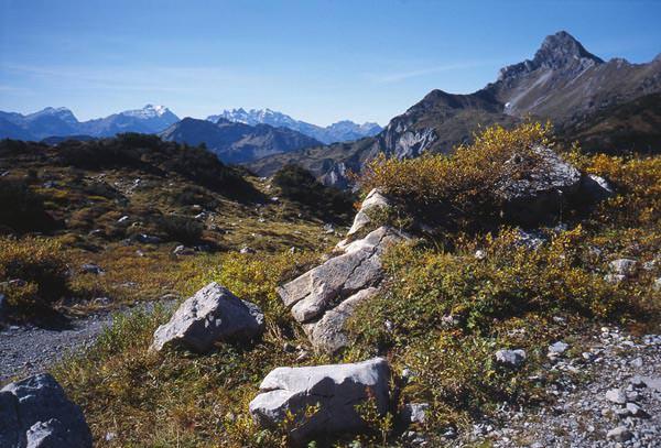 Vier Jahreszeiten Wanderbuch - Mitten im Lechquellengebirge
