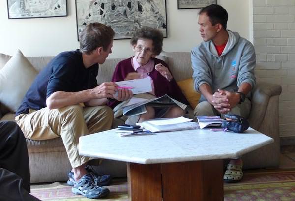 Briefing Mrs Hawley - Ama Dablam Expedition 2010