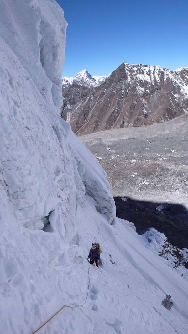 Ama Dablam Expedition 2010 - Akklimatisation