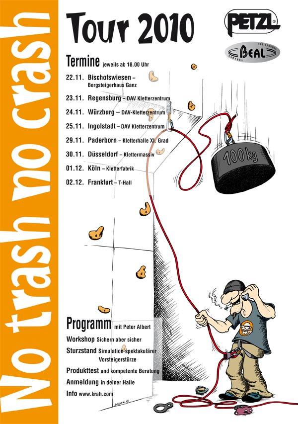 No Trash No Crash Tour 2010