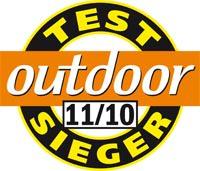 Outdoor Testsieger 11 2010