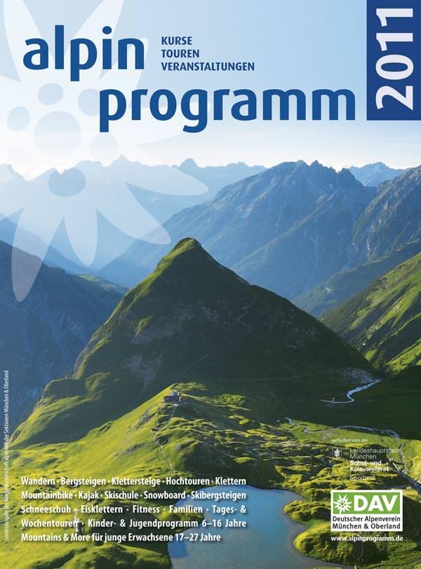Alpinprogramm 2011 - Alpenverein München und Oberland
