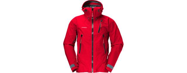Norröna - Trollveggen Jacket - Pop Red