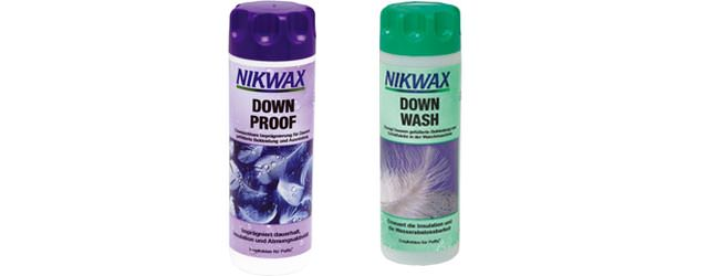 Nikwax Down Proof and Nikwax Down Wash