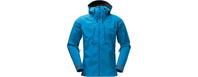 Norrona Trollveggen Flex 3 Jacket Men - Waterfall Blue